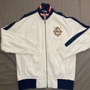 Vintage Polo Zip Up Sweater